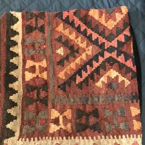 Kilim pillow case straight from Turkey